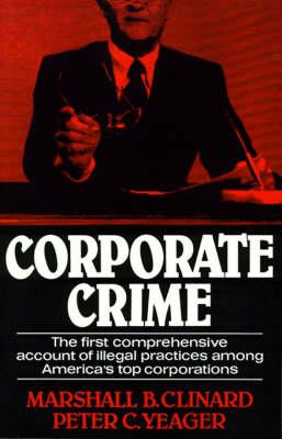 Corporate Crime (Paperback)