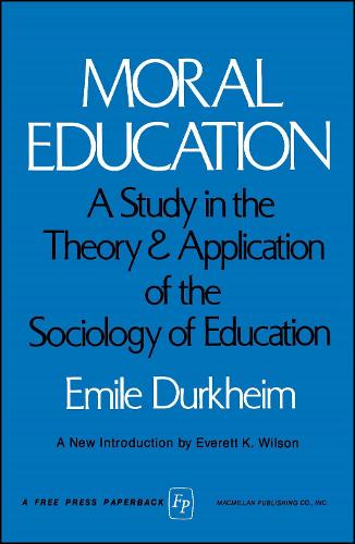 MORAL EDUCATION (Paperback)