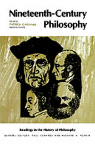 Nineteenth-Century Philosophy (Paperback)