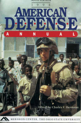 American Defence Annual, 1994 (Paperback)