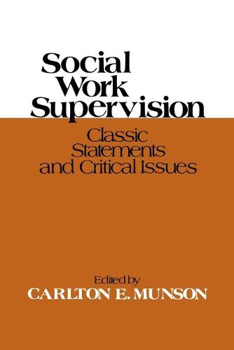 Social Work Supervision (Paperback)