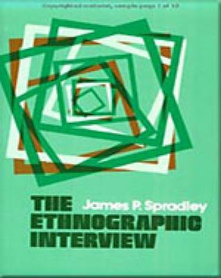 The Ethnographic Interview (Paperback)