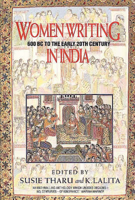 Women Writing in India: 600 BC to the Early Twentieth Century v. 1: 600 BC to the Present (Paperback)
