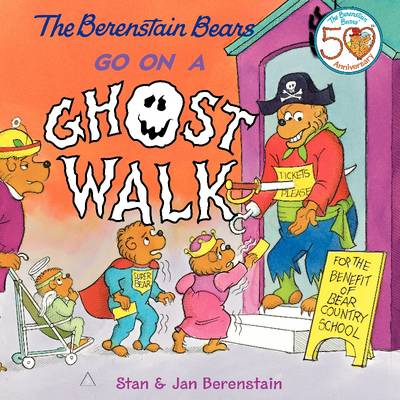 The Berenstain Bears Go on a Ghost Walk - Berenstain Bears (Paperback)