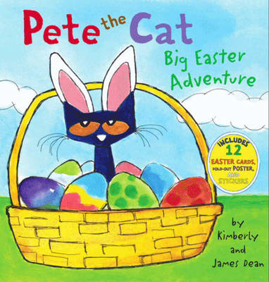 Pete The Cat: Big Easter Adventure - Pete the Cat (Paperback)