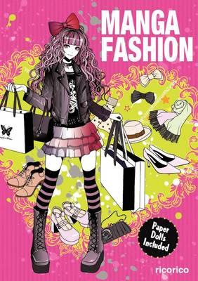 Manga Fashion with Paper Dolls (Paperback)