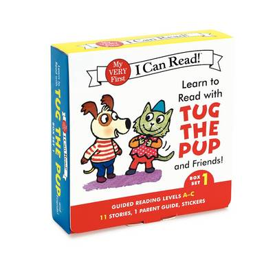 Learn to Read with Tug the Pup and Friends! Box Set 1: Levels Included: A-C - My Very First I Can Read (Paperback)