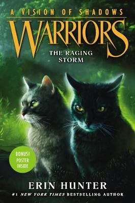 Warriors: A Vision of Shadows #6: The Raging Storm - Warriors: A Vision of Shadows 6 (Hardback)