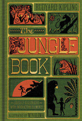 The Jungle Book (Illustrated with Interactive Elements) (Hardback)