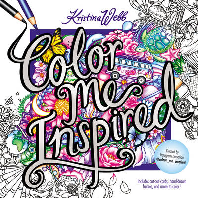 Color me inspired by kristina webb waterstones Colouring books for adults waterstones