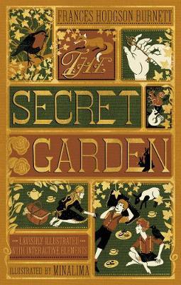 Cover of the book, The Secret Garden.