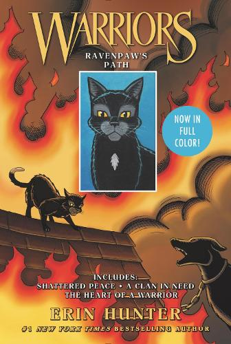 Warriors: Ravenpaw's Path: Shattered Peace, a Clan in Need, the Heart of a Warrior - Warriors Manga (Paperback)