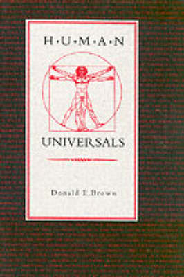 Human Universals (Paperback)