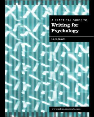 A Practical Guide to Writing for Psychology (Paperback)