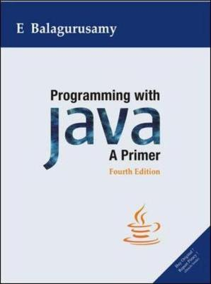 Programming with Java: A Primer (Paperback)