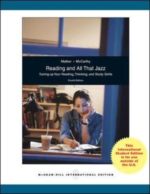 Reading and All That Jazz (Paperback)