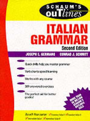 Schaum's Outline of Italian Grammar - Schaum's Outline S. (Paperback)