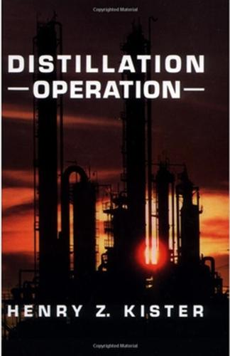 Distillation Operation (Hardback)