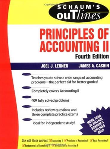 Schaum's Outline of Principles of Accounting II (Paperback)