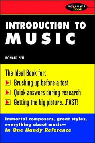 Schaum's Outline of Introduction To Music (Paperback)