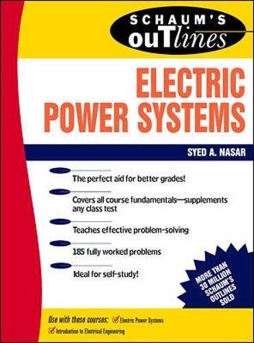 Schaum's Outline of Electrical Power Systems (Paperback)