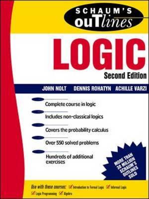Schaum's Outline of Logic (Paperback)