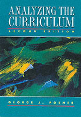 Analyzing the Curriculum (Paperback)