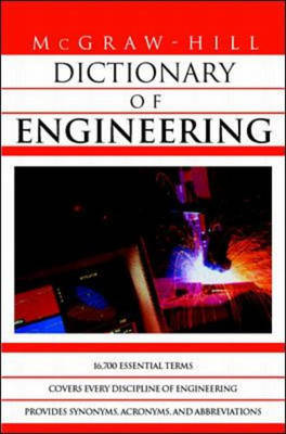 McGraw-Hill Dictionary of Engineering (Paperback)