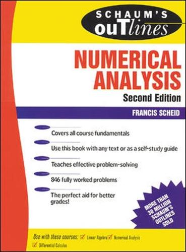 Schaum's Outline of Numerical Analysis (Paperback)
