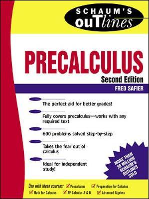 Schaum's Outline of Precalculus - Schaum's Outline Series (Paperback)