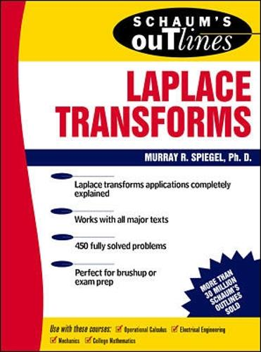 Schaum's Outline of Laplace Transforms (Paperback)