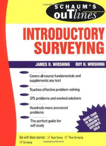 Schaum's Outline of Introductory Surveying - Schaum's Outline Series (Paperback)