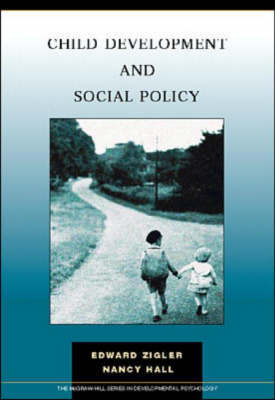 Child Development and Social Policy (Paperback)