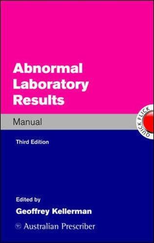 Abnormal Laboratory Results Manual (Paperback)