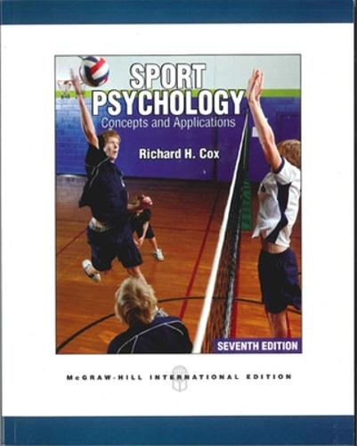 Sport Psychology: Concepts and Applications (Int'l Ed) (Paperback)