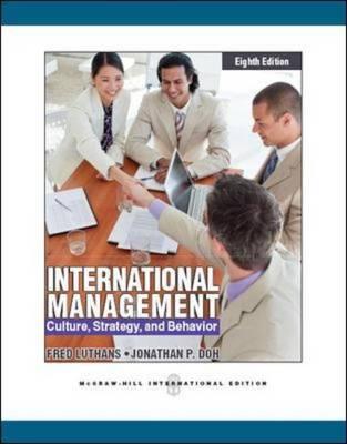 International Management: Culture, Strategy and Behavior (Paperback)
