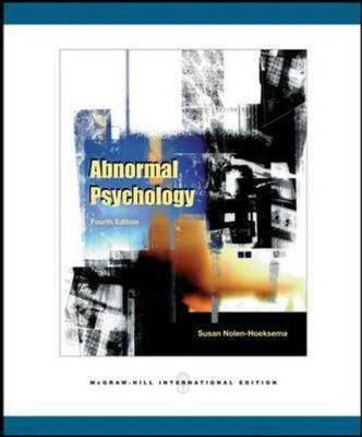 Abnormal Psychology: With MindMap CD-ROM and PowerWeb