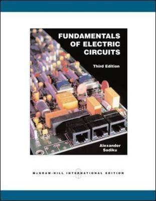 Fundamentals of Electric Circuits (Paperback)