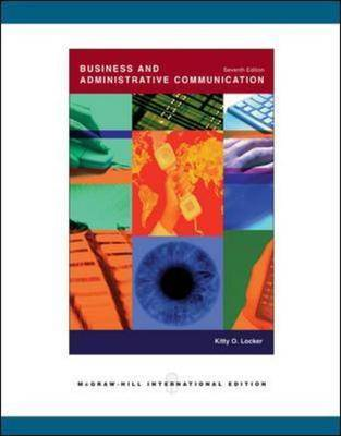 Business and Administrative Communication (Paperback)