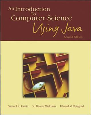 An Introduction to Computer Science Using Java (Paperback)