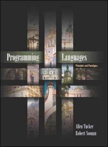 Programming Languages: Principles and Paradigms (Paperback)