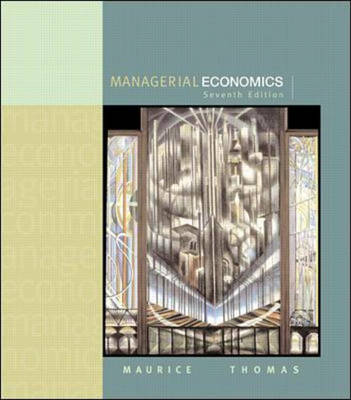 Managerial Economics: Applied Microeconomics for Decision Making (Paperback)