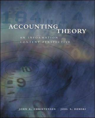 Accounting Theory (Paperback)