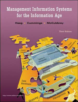 Management and Information Systems for the Information Age (Paperback)