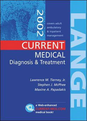 Current Medical Diagnosis and Treatment 2002 (Paperback)