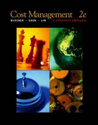 Cost Management: A Strategic Emphasis (Hardback)