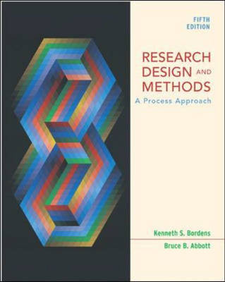 Research Design and Methods: A Process Approach (Paperback)