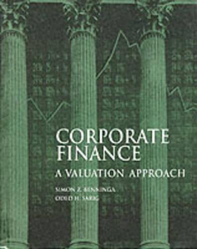 Corporate Finance: A Valuation Approach (Paperback)