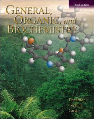 General, Organic & Biochemistry (Hardback)