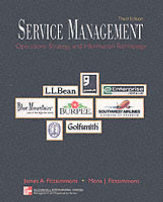 Service Management: Operations, Strategy, and Information Technology: With Student CD-Rom Mandatory Package - McGraw-Hill International Editions: Management & Organization Series